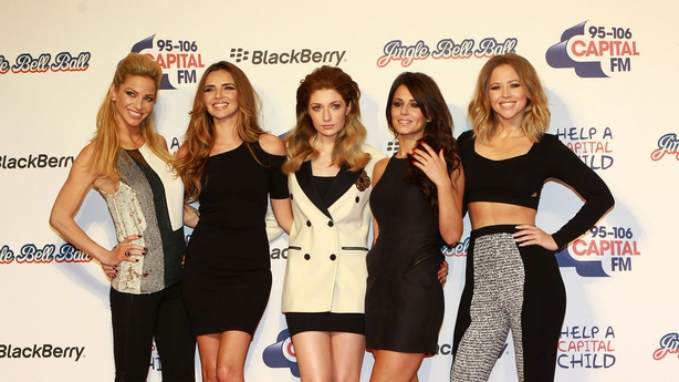 Girls Aloud before they split in 2013