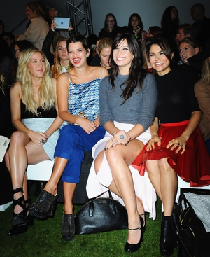 Ellie Goulding, Pixie Geldof, Daisy Lowe and Samantha Barks
