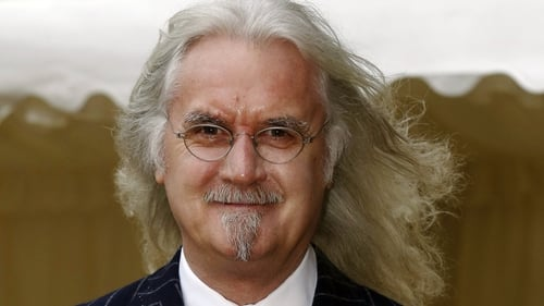 Billy Connolly will continue to work in television and on stage
