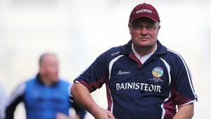 Galway manager Tony Ward