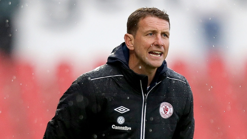 Ian Baraclough is hoping for more cup success with Sligo Rovers