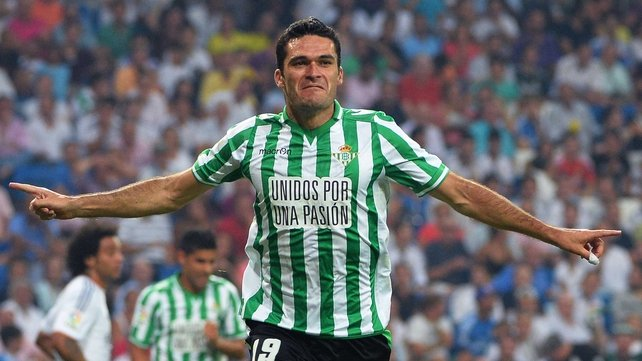 Jorge Molina opened the scoring for Betis