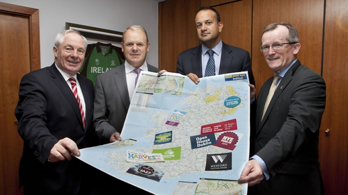 Tourism Ireland and Minister for Transport, Tourism & Sport Leo Varadkar launch campaign