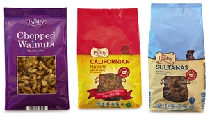 Aldi offers baking ingredients at great prices - including Chopped Walnuts €1.99, Raisins and Sultanas  €1.19 each
