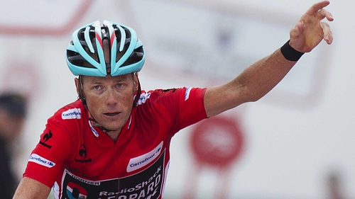 Chris Horner became the oldest Grand Tour winner with victory in the Vuelta a Espana at the age of 41