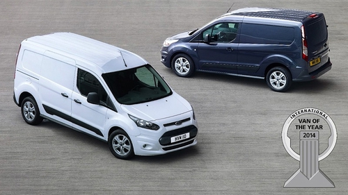 A record-equalling fifth International Van of the Year victory