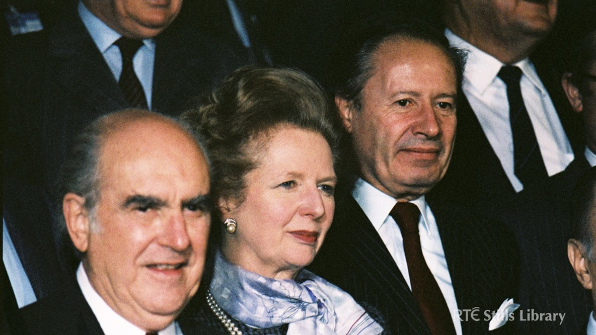 Andreas Papandreou, Margaret Thatcher, Gaston Thorn