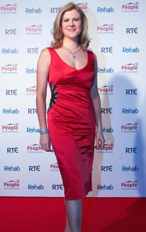 Weather and Lotto presenter Nuala Carey