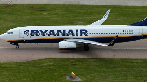 Ryanair said it carried 9.3 million passengers last month