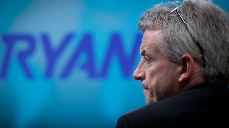 Ryanair's full year profits drop by 29%