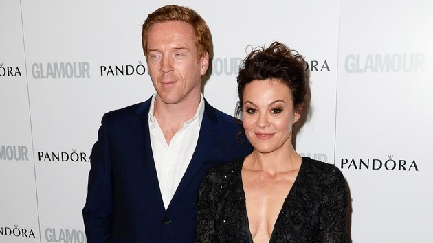 Damian Lewis' actress wife Helen Mccrory as revealed that she can't watch her husband in Homeland