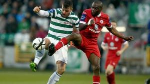 Sligo Rovers and Shamrock Rovers meet in the semi-finals