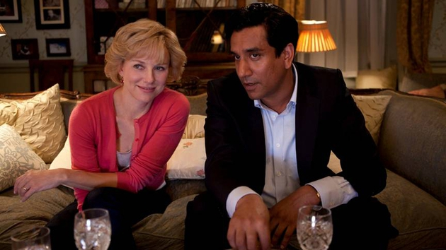 Naveen Andrews was not given much to work with as Diana's love interest, Hasnat Khan