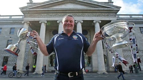 Tony Ward managed both the senior and intermediate Galway teams to All-Ireland titles on Sunday