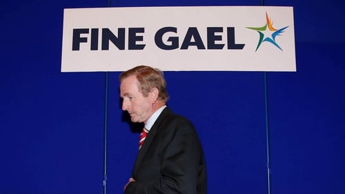 Enda Kenny said the Government's objective was to restore the economy