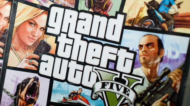 Game ball: Grand Theft Auto V is expected to rake in over a billion dollars within days