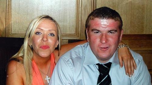 Robert McCartney with girlfriend Bridgeen Hagans
