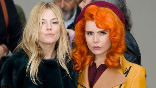 Sienna Miller Paloma Faith at Burberry