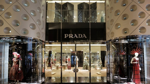 Prada sales in China slowed from 35% to 20% in the first half compared to 2012 figures