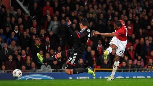 United beat Bayer Leverkusen 4-2 when the sides met earlier this season