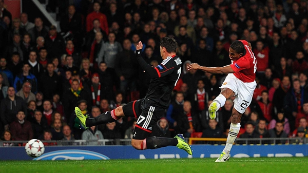United beat Bayer Leverkusen 4-2 when the sides met earlier this season