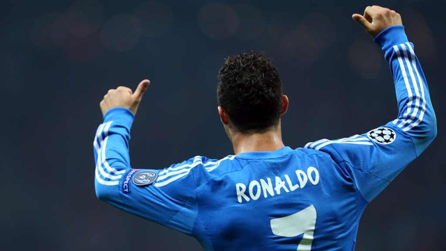 Cristiano Ronaldo hit another hat-trick for Real Madrid