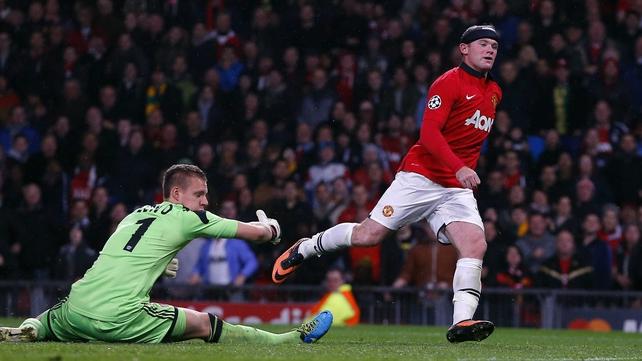 Wayne Rooney scored twice last night