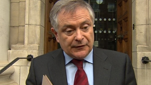 Brendan Howlin did not rule out outsourcing management of debt recovery to the private sector