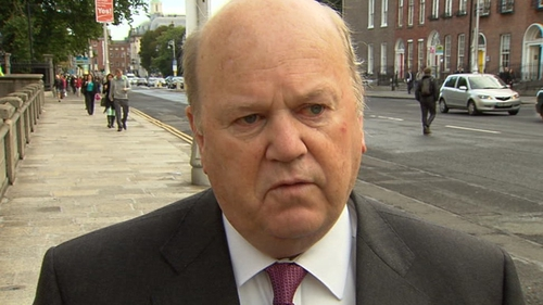 Michael Noonan said that if the 9% rate was retained he would have to find €360m elsewhere