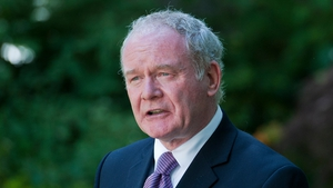 Martin McGuinness said: 'I am on the public record that I was a member of the IRA'