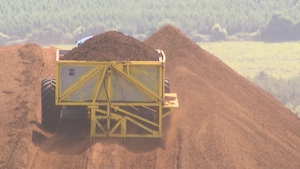 Bord na Móna said a successful peat harvest last summer pushed profits higher