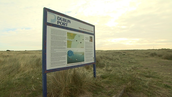 Dublin Port Company will transfer part of Bull Island to the council