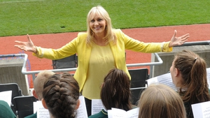 Miriam launches Stars, Choirs and Carols at Croke Park today
