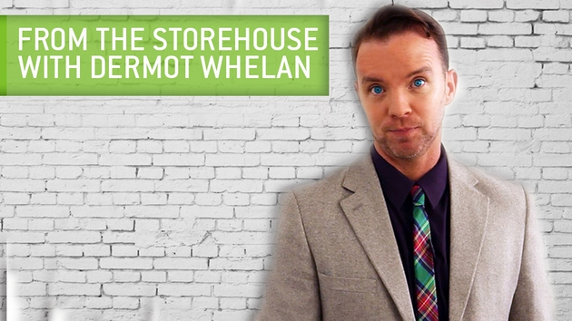 Dermot Whelan hosts a strong line-up in From the Storehouse