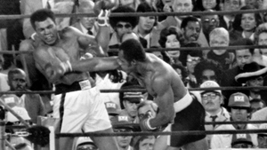 Ken Norton (right) broke Muhammad Ali's jaw in their bout in 1973