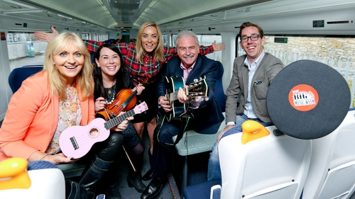 Big Music week will be coming to a train station near you!