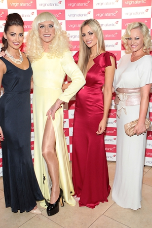 Rebecca Maguire, Miss Candy and Rosanna Davison and Amanda Brunker