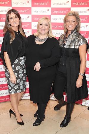 Charlotte Bradshaw, Carmel Breheney and Emma Coppolla