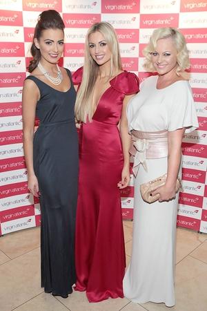 Rebecca Maguire, Rosanna Davison and Amanda Brunker