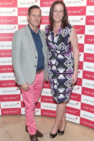 John McKibben and Ciara Foley