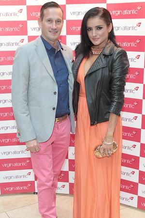 John McKibben and Virgiania Macari