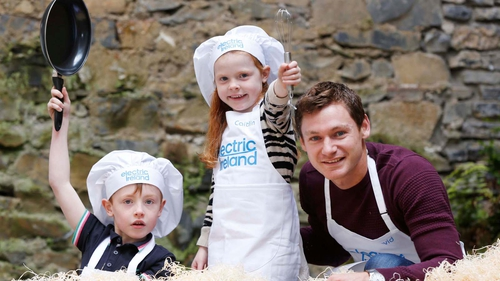 David Gillick will be cooking up a storm at the Ploughing Championships