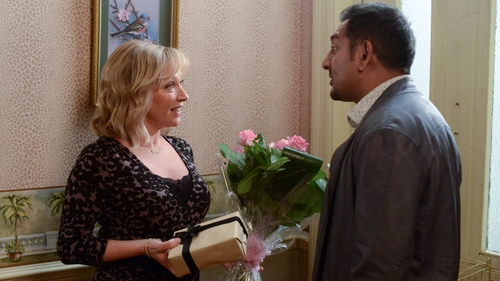 Masood is the mood for romance with Carol...