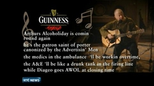Diageo defends 'Arthur's Day' after Christy Moore labels it an 'alcoholiday'