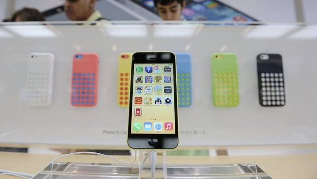 The arrival of the iPhone 5S - and the lower-cost 5C - helped to boost Apple's smartphone market share