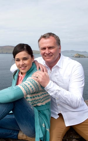 Daithaí O Sé revealed that he was expecting his first child with wife Rita Talty