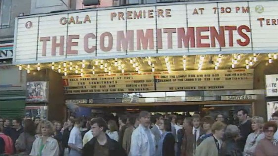 The Commitments Premiere, Savoy Cinema, Dublin