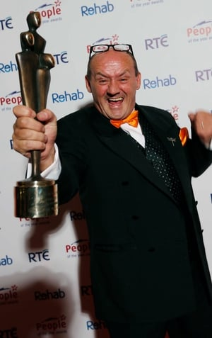 Brendan O'Carroll won a People of the Year Award