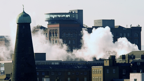 The seven-storey Guinness Storehouse has received more than 13 million visitors since it opened in 2000