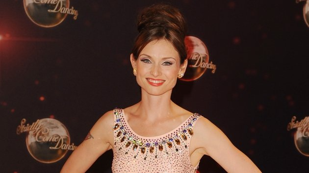 Sophie Ellis Bextor injured her toe while training for her Strictly gig at home